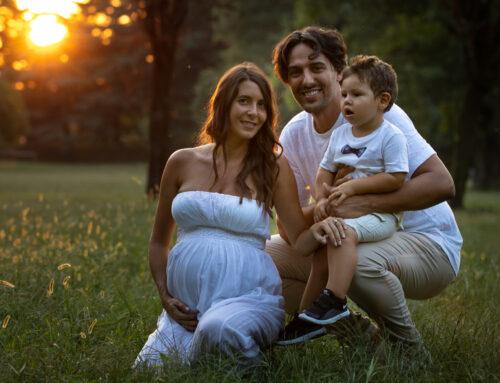 Servizio fotografico Maternity: in attesa del piccolo Mathias